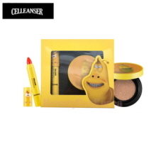 CELLEANSER Larva Yellow Makeup Duo Set [LARVA Limited Edition]